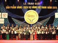 """Ổn áp NISHU: """" Top 50 Sản phẩm Vàng & Dịch vụ Vàng Việt Nam 2013″"""